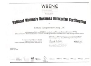 national womens enterprise certification
